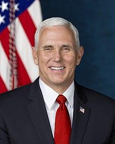 Michael Richard Pence - Mike Pence - americký politik a viceprezident Spojených států