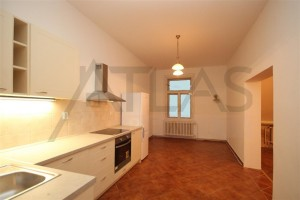 kuchyň - pronájem bytu 3+1, 104 m2, Praha 2 - Vinohrady, Mánesova
