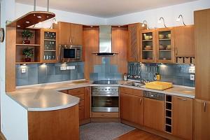 Kuchyň - Pronájem bytu 3+kk Praha 6 - Vokovice, Červený Vrch, ulice Nepálská