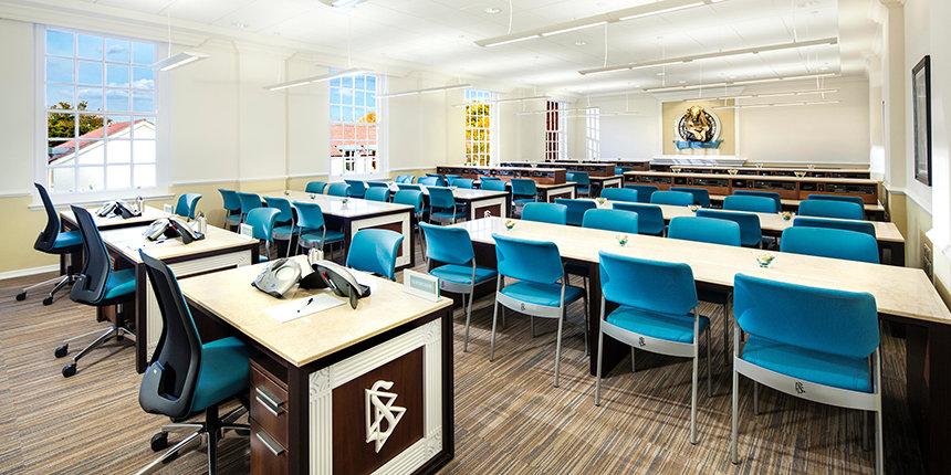 Scientologická akademie - Scientologická církev Birmingham ve Velké Británii