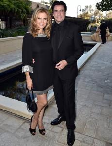 ohn Travolta a jeho manželka Kelly Preston navštívili 45. Slavnostní galavečer pořádaný Celebrity centrem Scientologické církve