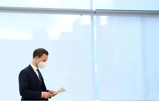 Rakouský ministr financí ÖVP Gernot Blümel
