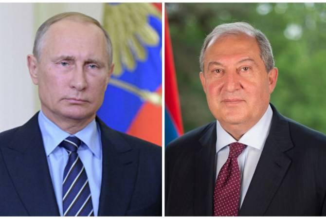 Sarkissian žádá Putina