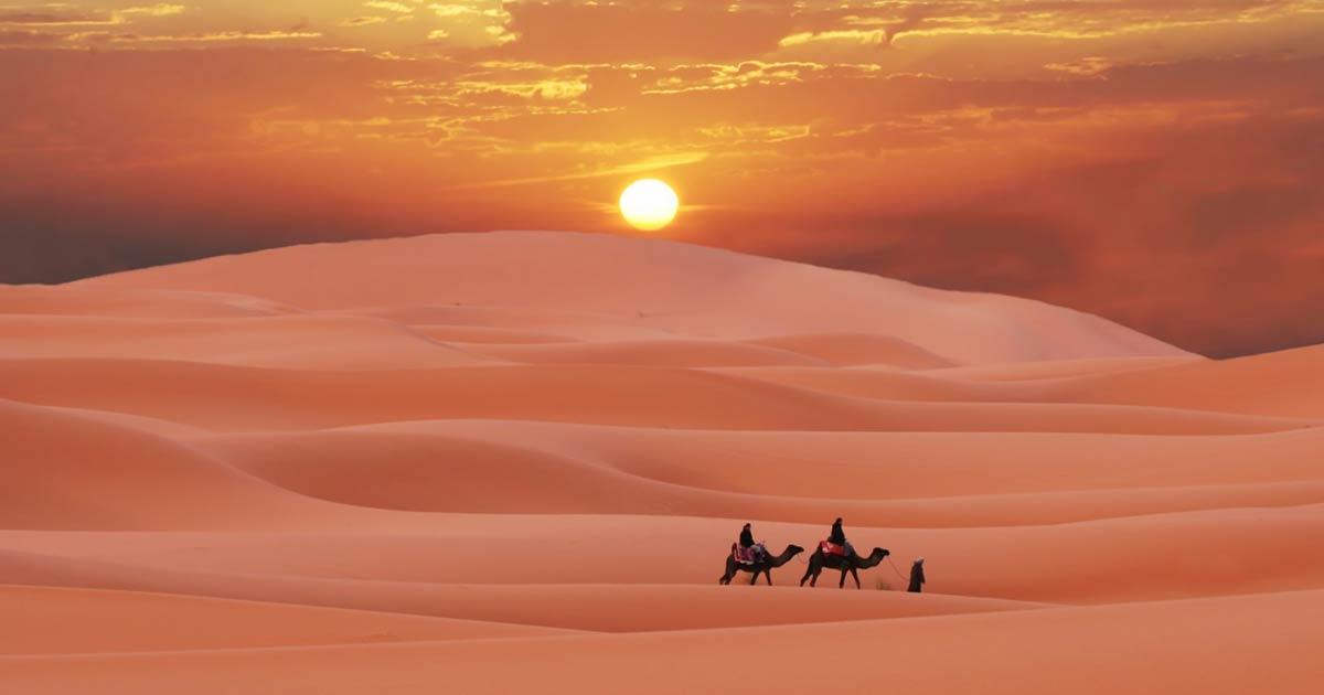 Saharská změna klimatu souvisí s 1000letým jihovýchodním asijským megasuchem