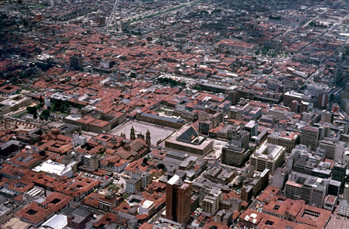 Bogotá, hlavní město Kolumbie