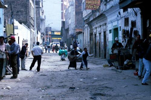 hlavní město Kolumbie Bogotá