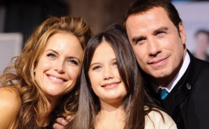 Kelly Preston, Ella Bleu Travolta a John Travolta
