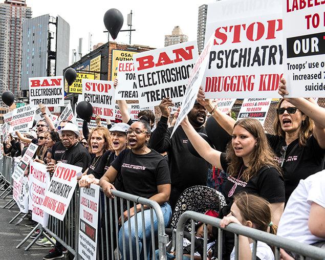 Pochod CCHR v New Yorku za ochranu dětí
