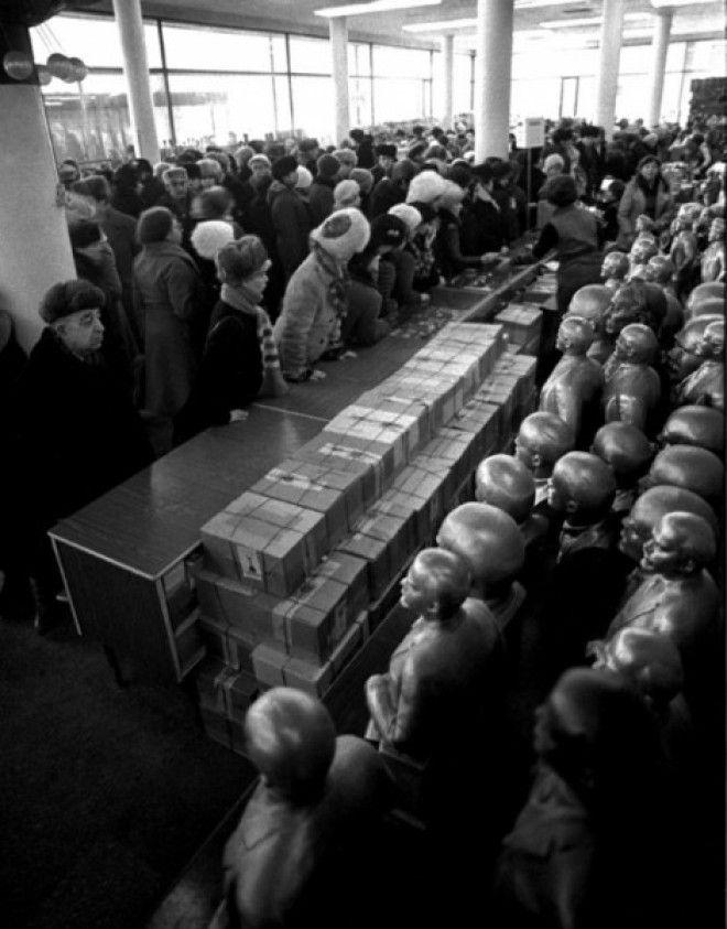 Strašidelné fotografie, které ukáží strašný život jaký existoval v SSSR 9